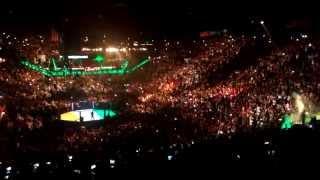 ufc 189 conor mcgregor entrance crowd reaction 4k quality