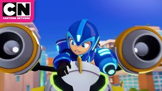 Mega Man: Fully Charged | Mega Man vs. Air Man | Cartoon Network