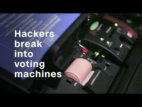 We watched hackers break into voting machines