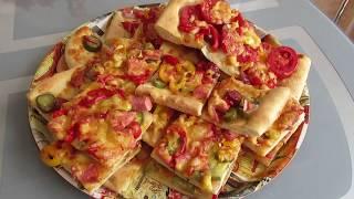 Рецепт пиццы. Тесто в хлебопечке.