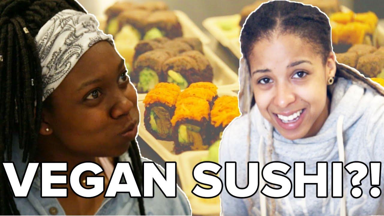 Sushi Lovers Try Vegan Sushi