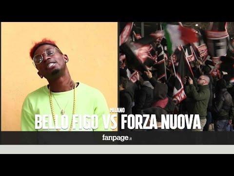 """Forza Nuova, durante il corteo parte la musica di Bello Figo, i fan del rapper: """"Ecco cosa ci hanno"""