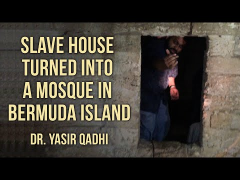 Slave house turned into a Mosque in Bermuda Island ~ Dr. Yasir Qadhi | 10th May 2015