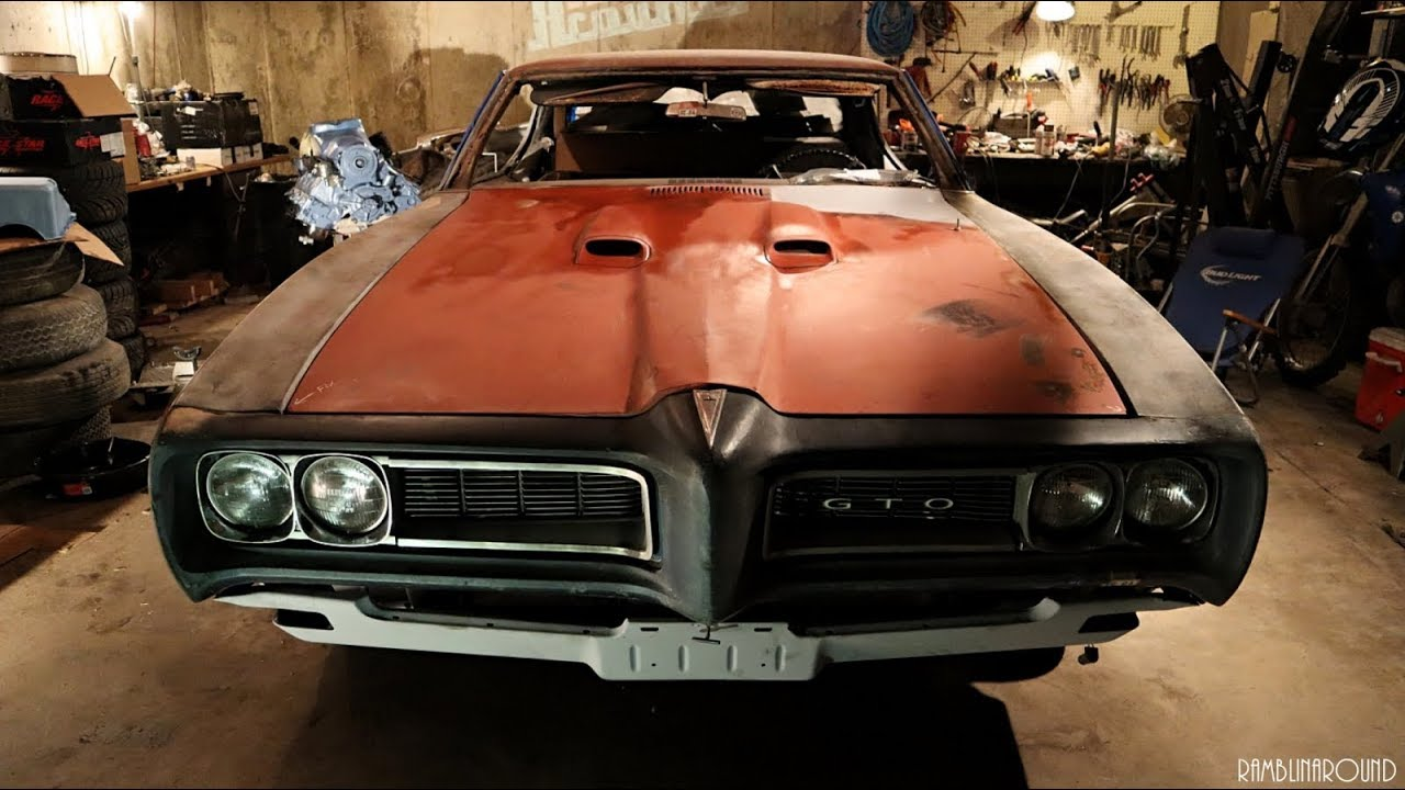 1968 Pontiac Gto Project Update Video 8 Youtube 1973 Car