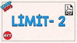 Limit Özellikleri- 2  AYT Matematik