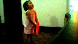 Laira watching Dibo Part 1