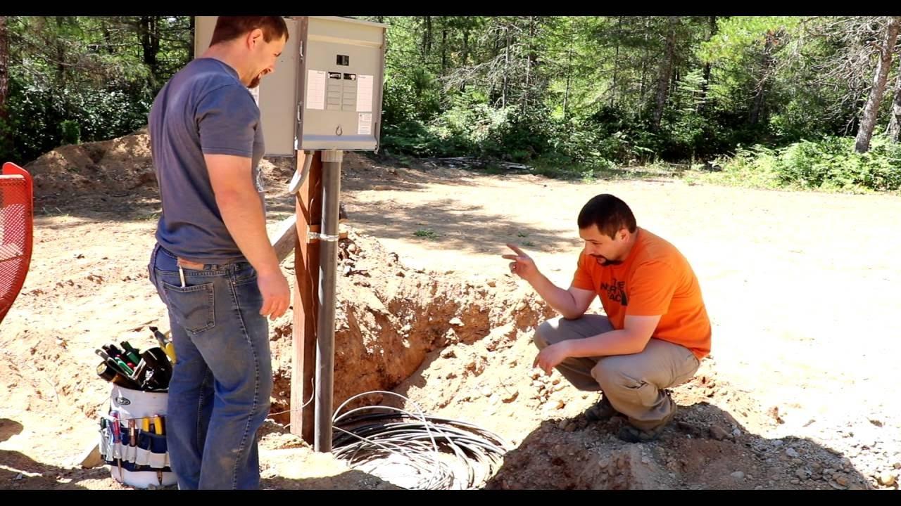 How To Install Temporary Power  Doing It Dan U0026 39 S Way