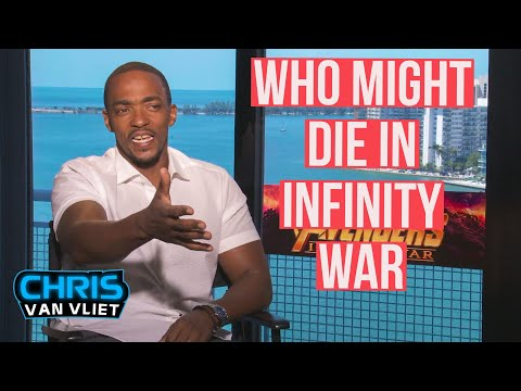 Anthony Mackie on who might die in Avengers: Infinity War