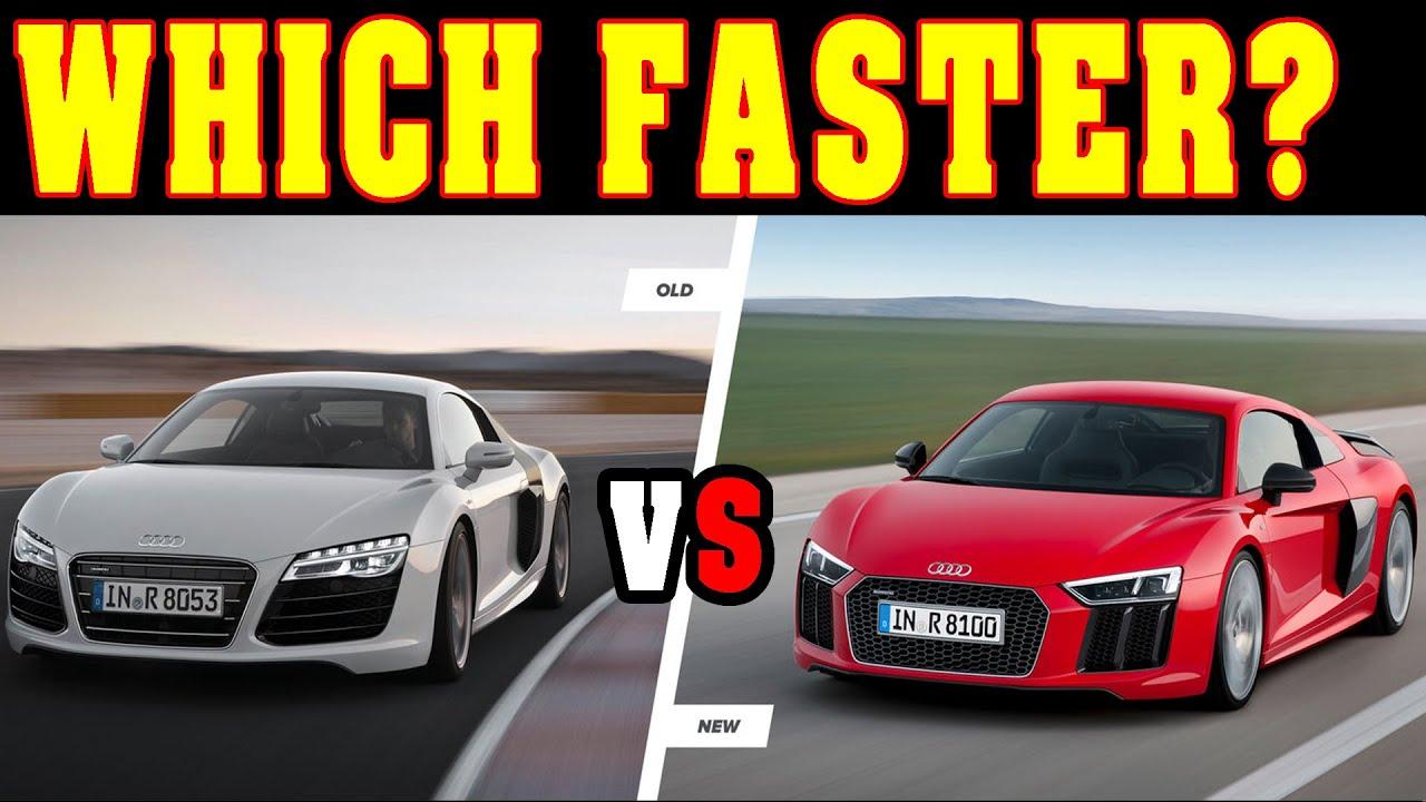 Old Audi R8 V10 Plus Vs New Audi R8 V10 Plus 0 300 Km H