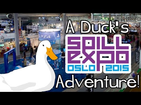 A Duck's Tour Through SpillExpo (Oslo)