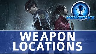 Resident Evil 2 Remake All Weapon Locations
