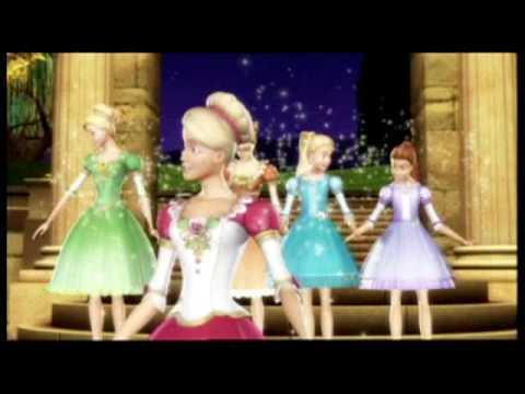 Barbie in the 12 dancing princesses trailer youtube - Barbie 12 princesse ...