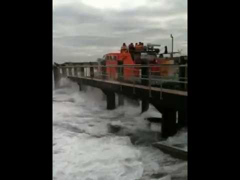 Launch of new lifeboat at Shoreham