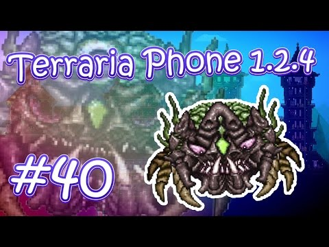 видео: lp. hm. terraria phone 1.2.4 #40 (Поражение Окрама)