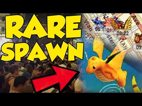 #PokemonGO DRAGONITE SPAWNS IN NEW YORK + MORE RARE POKEMON GO SPAWNS REVEALED!