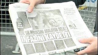 صحيفة صباح التركية تنشر تفاصيل الطريقة التي سجّل بها #جمال_خاشقجي داخل القنصلية