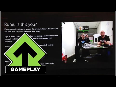 Level Up Tester Kinect