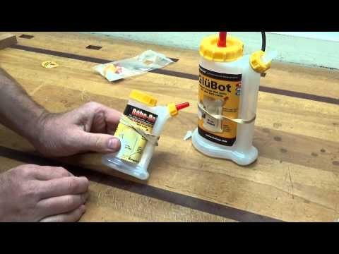 LMI Glu Bot and Babe Bot glue bottles
