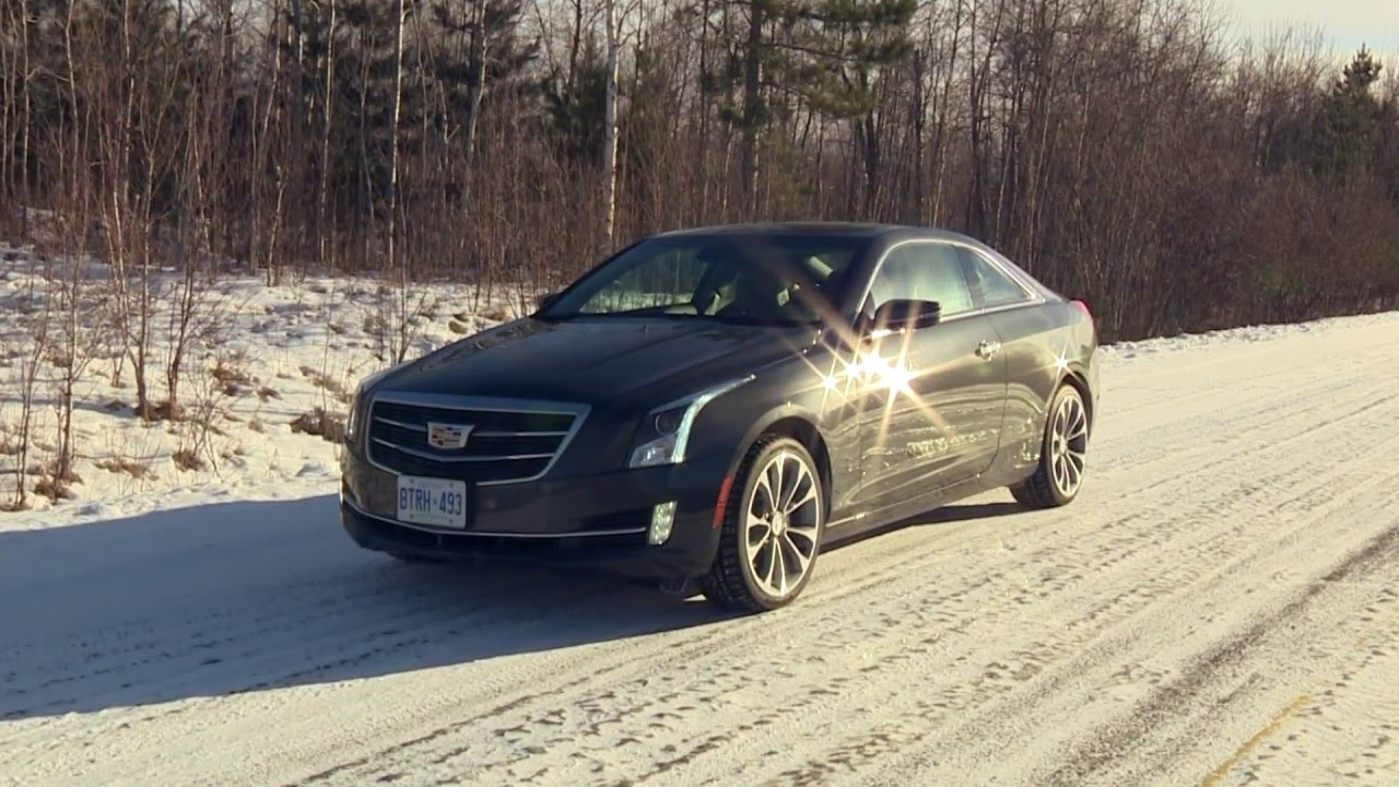 2016 cadillac ats 2 0t awd coupe test drive youtube. Black Bedroom Furniture Sets. Home Design Ideas