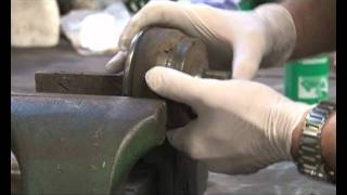 How to replace a broken ABS Reluctor Ring to your car - slotted ring