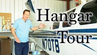 Hangar Tour with Martins N70TB YouTube Videos