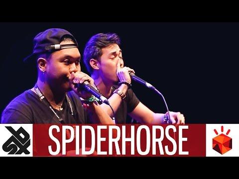 SPIDERHORSE (GENE & CHRIS CELIZ)  |  Grand Beatbox TAG TEAM Battle 2017  |  Elimination