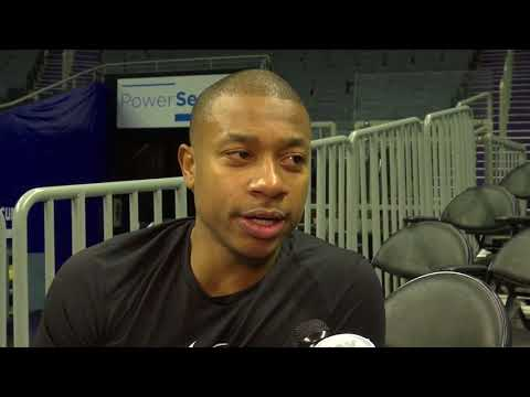 Cleveland Cavaliers All-Star Isaiah Thomas wants to help any way he can until return from injury