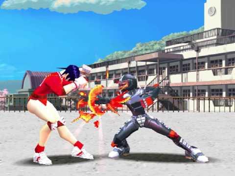 Shiritsu Justice Gakuen: Legion Of Heroes (Capcom 1997)  Attract Mode 60fps