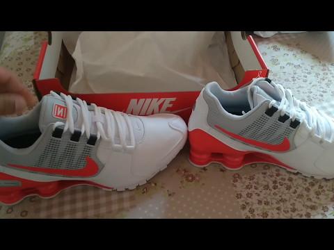 pretty nice 58fae bfa31 Umboxing Nike shox Avenue (original) - YouTube
