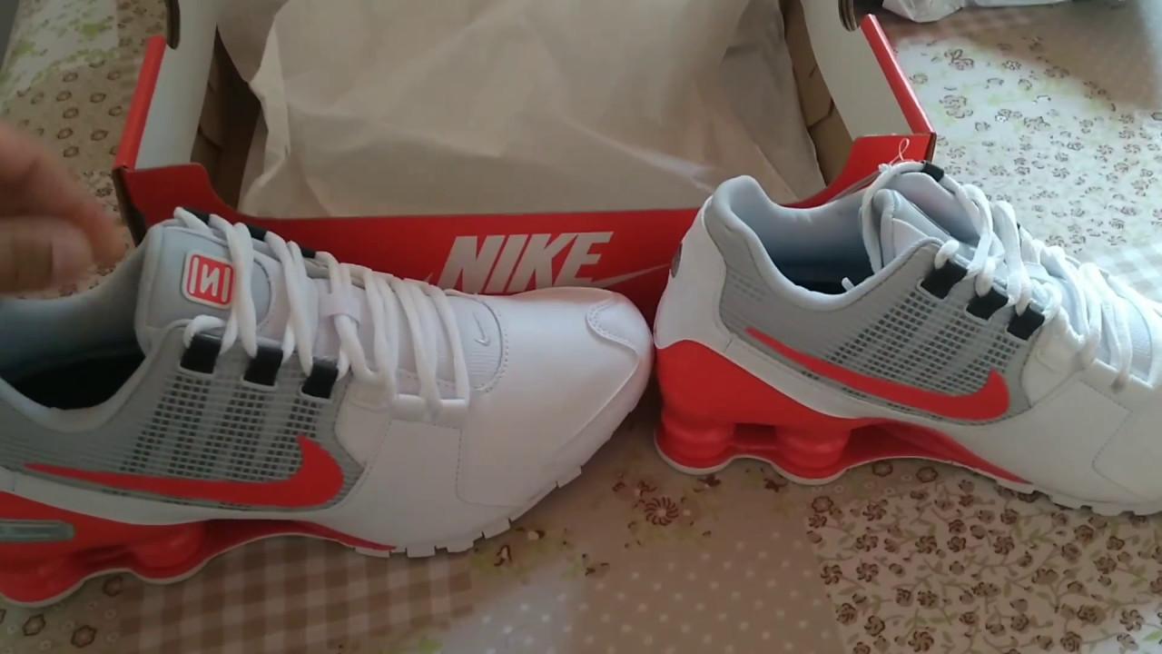 super popular aa8b3 db5ea Umboxing Nike shox Avenue (original)