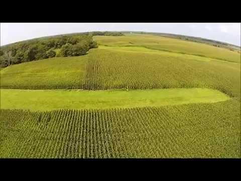 Daniel Whitwell Aerial Tour - Hancock County, IL