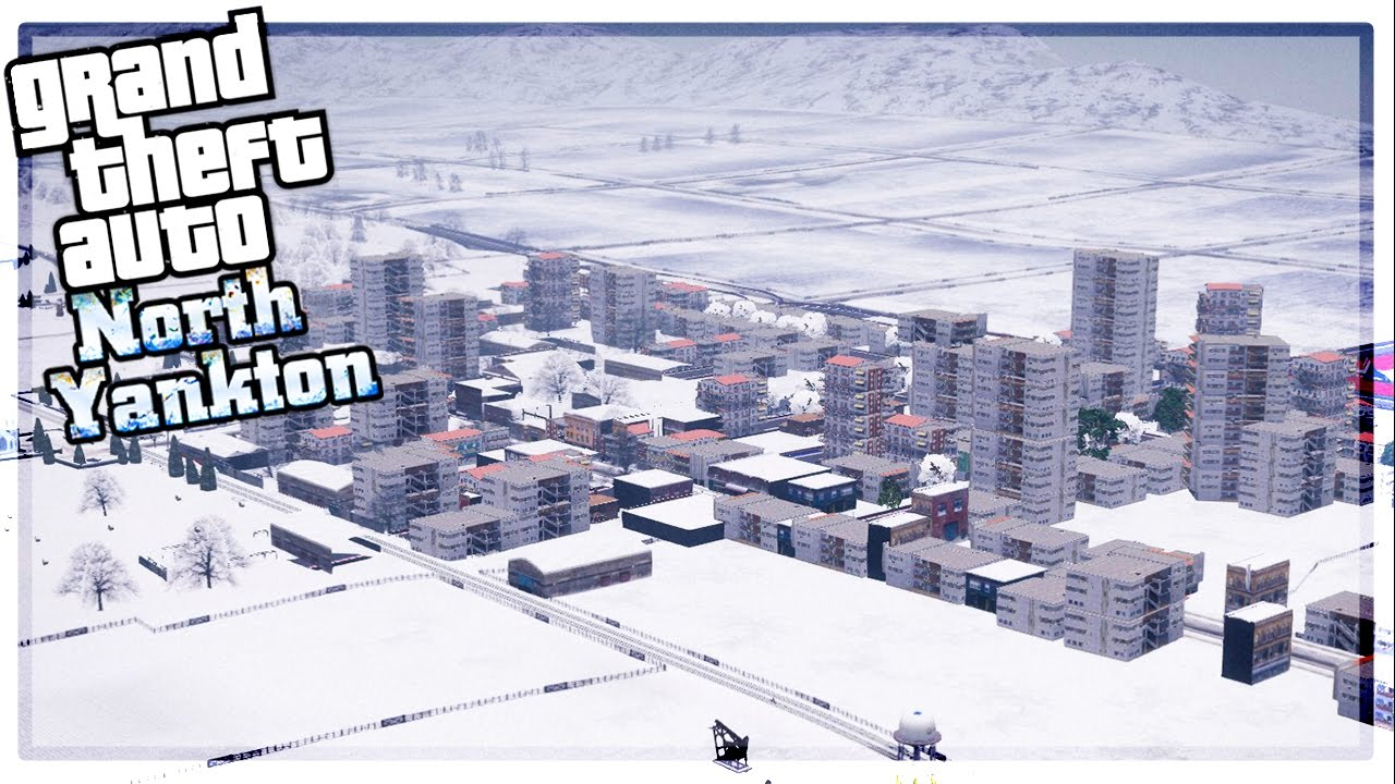 HOW A NORTH YANKTON MAP COULD LOOK IN GTA ONLINE YouTube