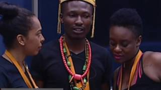 Efe match to Big Brother Nigeria Glory teamefe