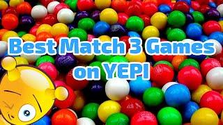 Best 5 Match 3 Games on YEPI