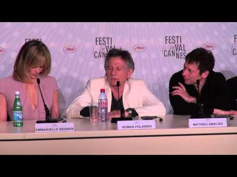 La Venus à la fourrure (Polanski) - Conférence de presse