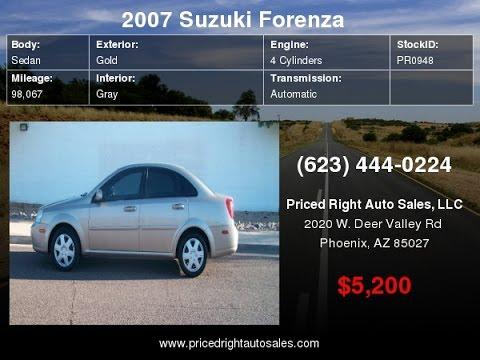 2007 Suzuki Forenza 4dr Sdn Auto PR0948