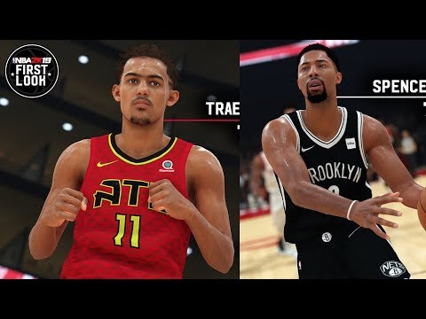 NBA 2K19 Trae Young Screenshot and Rating!