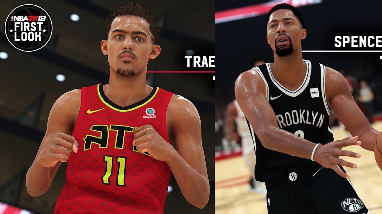 NBA 2K19 Trae Young Screenshot and Rating!