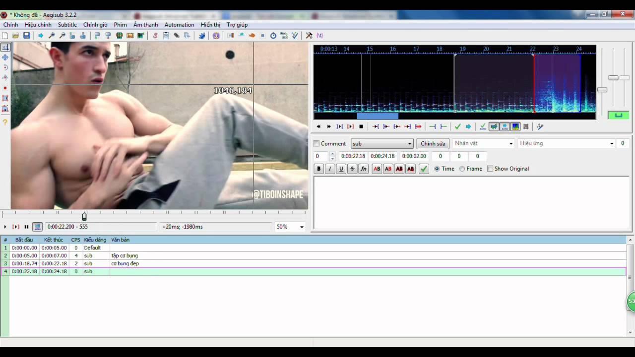 Hướng dẫn cách add sub vào video aegisub siêu đơn giản ai cũng làm được