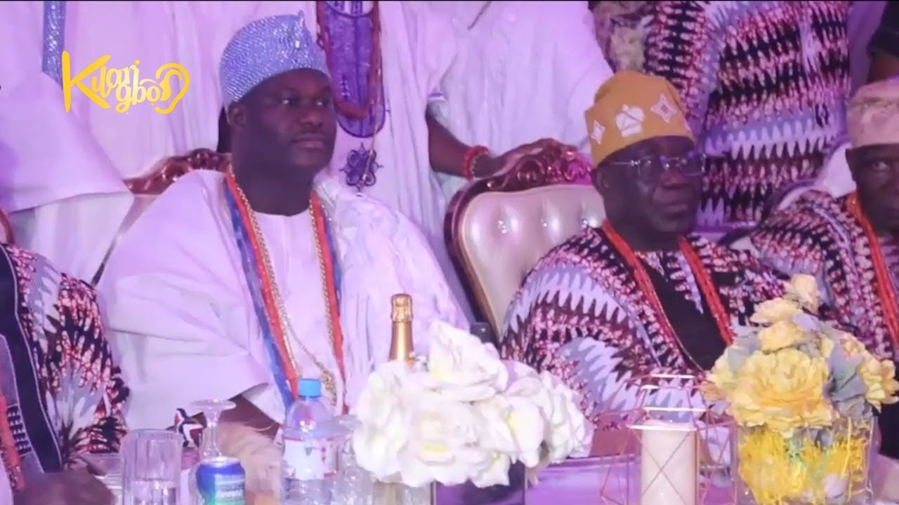 Image result for OONI OF IFE, AKIOLU OF LAGOS, KWAM 1. AT OBA ONIRU'S 8OTH BIRTHDAY
