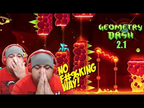 THIS NEW LEVEL WAS CREATED BY SATAN B#TCH ASS! [GEOMETRY DASH 2.1] [NEW LEVEL]