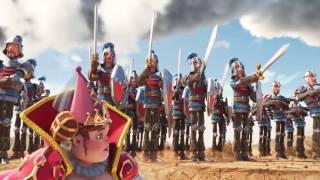 Goodgame Empire - Warrior King (Official Trailer)