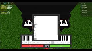 | DOKI DOKI SAYO-NARA | Doki Doki Literature Club roblox piano.