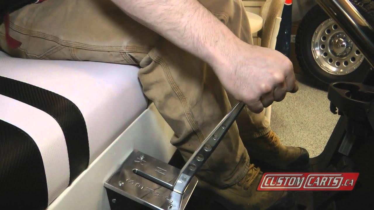 Sport Shifter - Customcarts.ca - YouTube on homemade tv, homemade hot tub, homemade atv, troubleshooting club car electric cart,