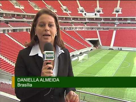 Estádio Nacional de Brasília Mané Garrincha é inaugurado
