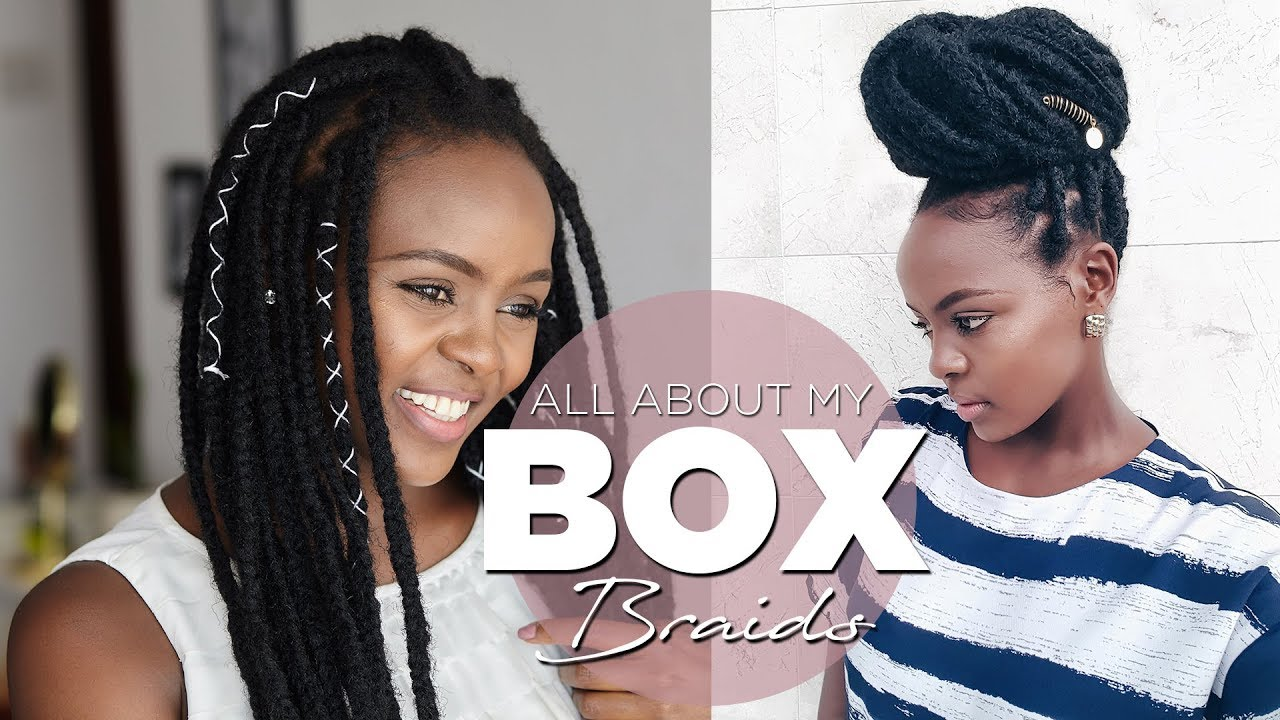 Box Braids Maintanance To Avoid An Itchy Scalp Accessorizing With