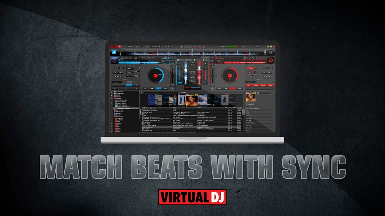 Using sync in Virtual DJ