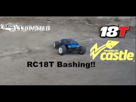 Team Associated RC18T Brushless Bashing - RCHobbyer