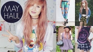 May Haul | Urban Outfitters, UNIF, Motel, Missguided, Iron Fist, Dixi Thumbnail
