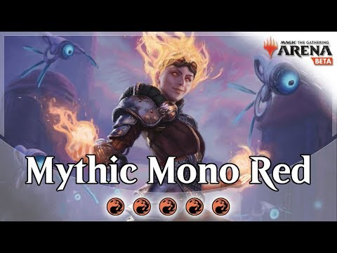 Mono Red Mythic Ranked #1 Competitive Deck Guide For MTG Arena